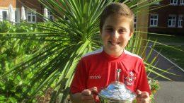 Jack Baker, Tunbridge Wells Youth FC Under 11s, at McCarthy & Stone's Southborough Gate development in Tunbridge Wells
