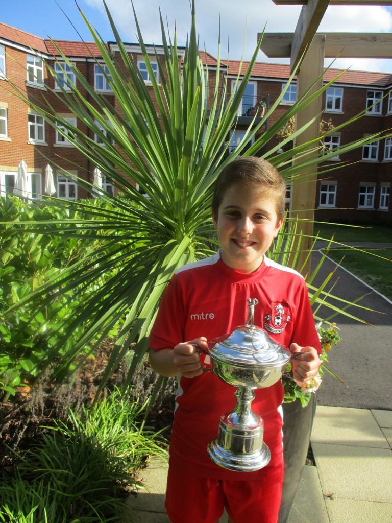 Jack Baker, Tunbridge Wells Youth FC Under 11s, at McCarthy & Stone's Southborough Gate development in Tunbridge Wells